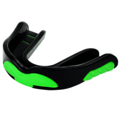 "Cool ""Green Monster"" Boil and Bite Sports Mouth Guard (With Free Case)"