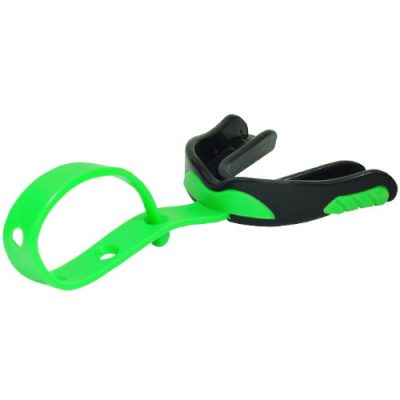 Green Sports Mouth Guard with Strap