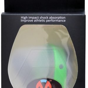 Green Sports Mouth Guard with Strap and Carrying Case