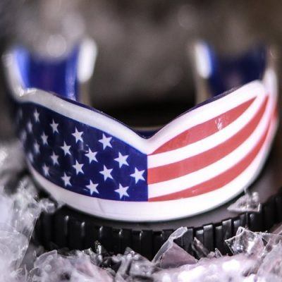 American Flag Sports Mouth Guard