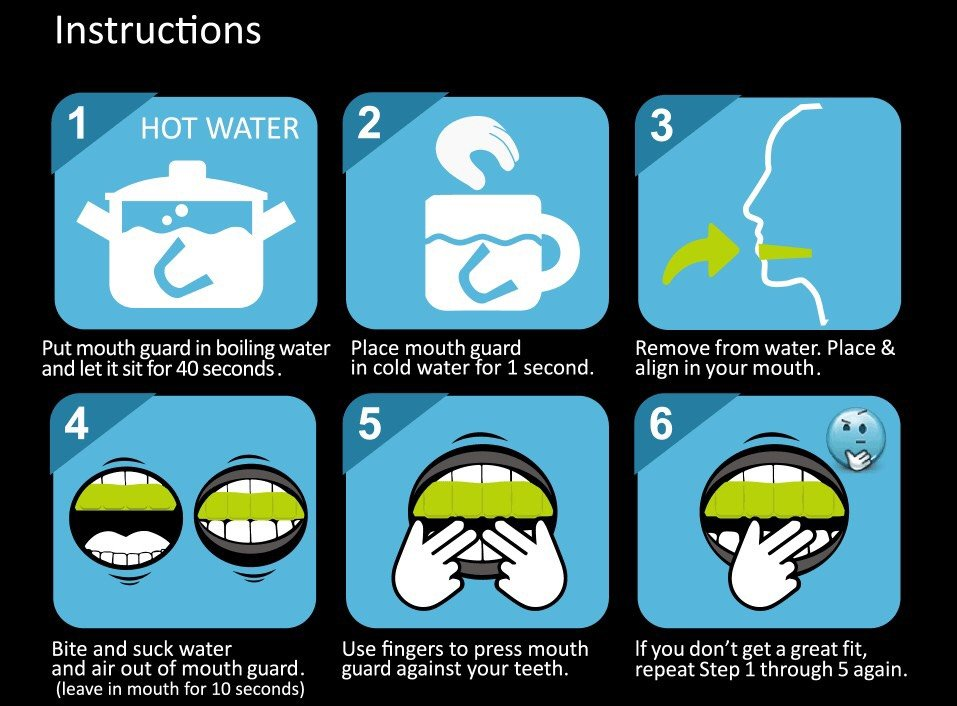 How to Mold Sports Mouth Guard