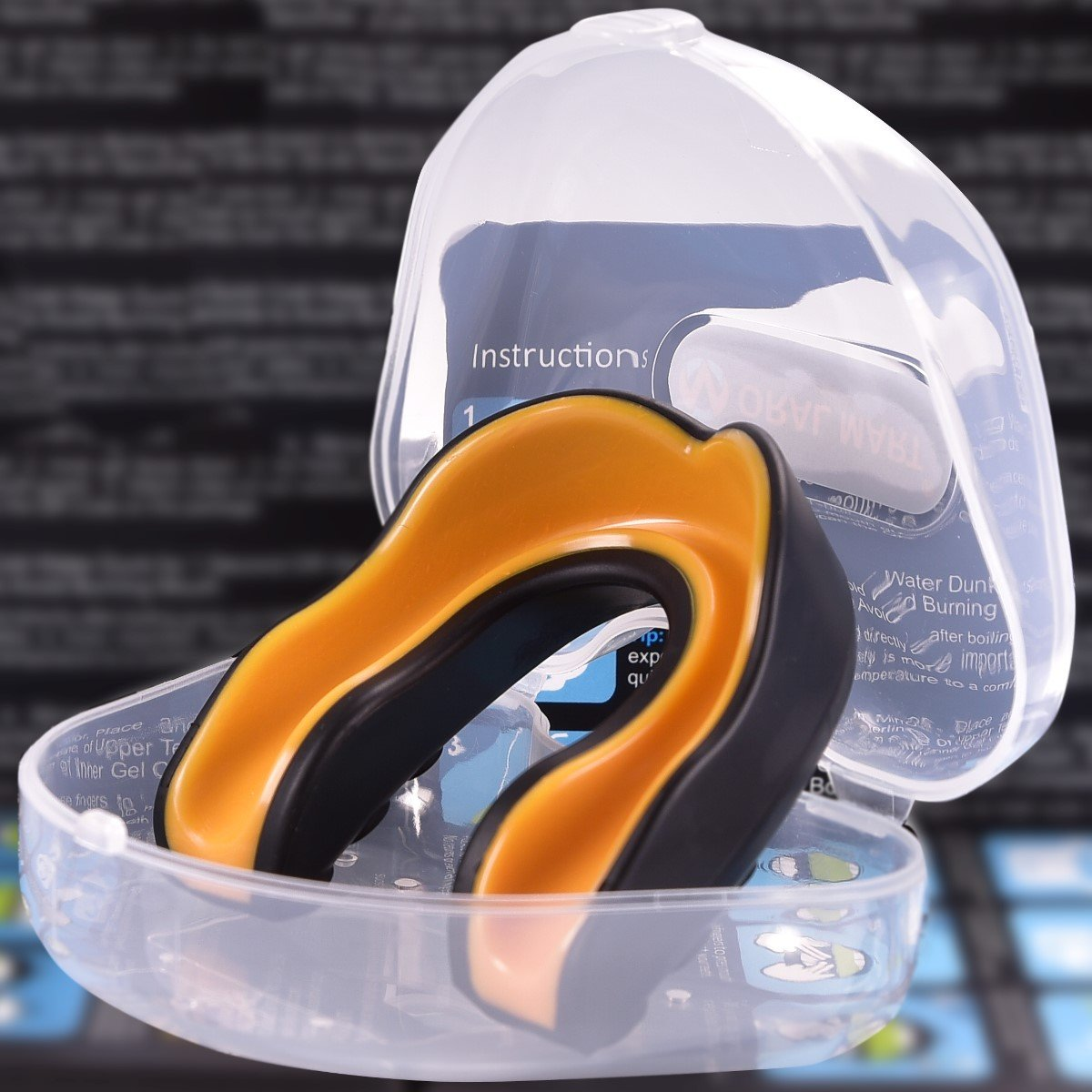 Black Gold Sports Mouth Guard
