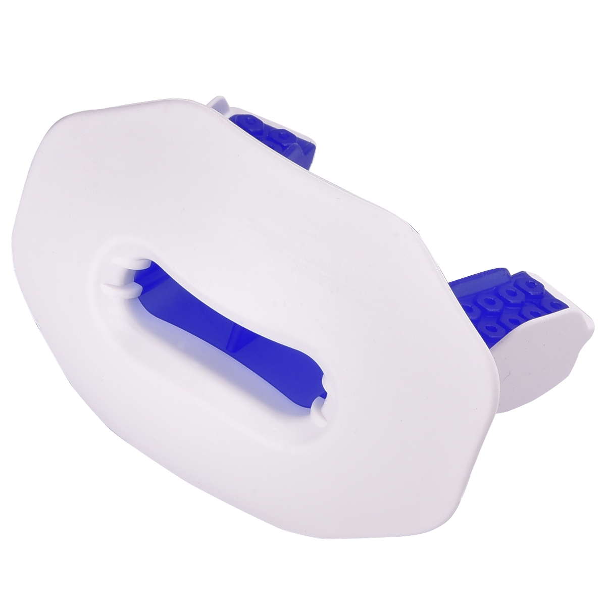 lip guard mouthpiece white blue