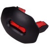 lip guard protector football black red